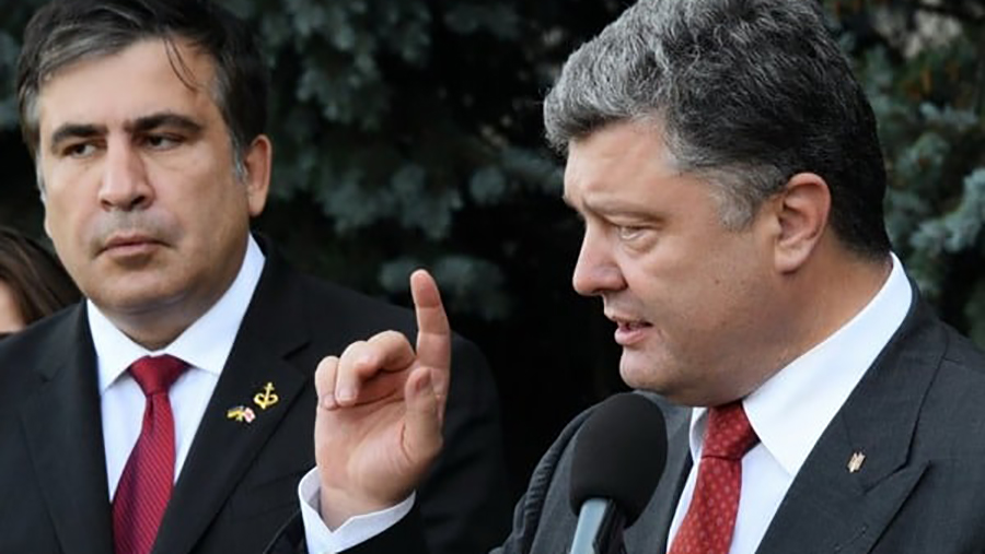 Президент помстився Саакашвілі за критику і боротьбу з корупцією